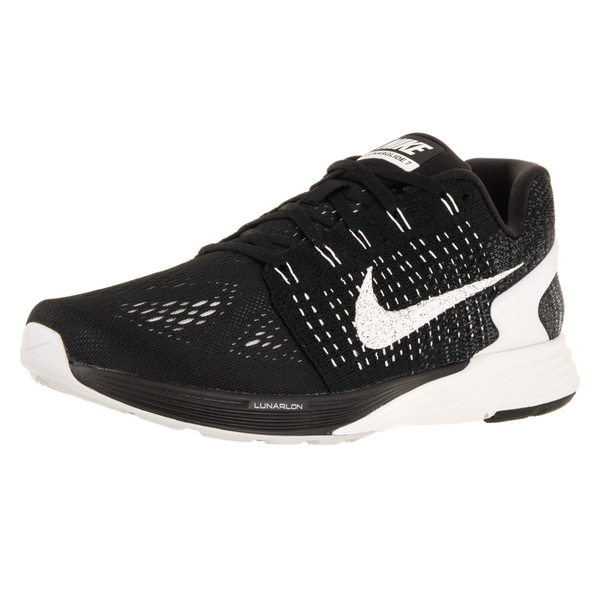 Nike Men's Lunarglide 7 Black/Summit White/Anthracite Running Shoe