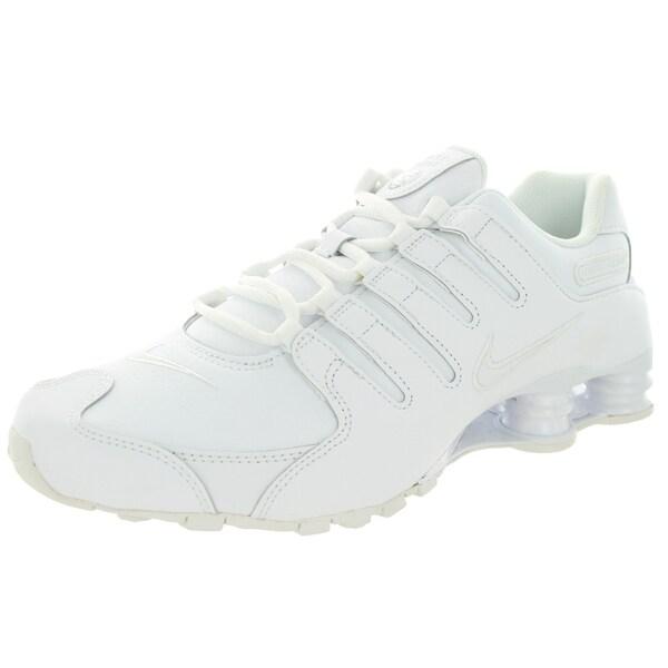 Nike Men's Shox Nz White/White Running Shoe