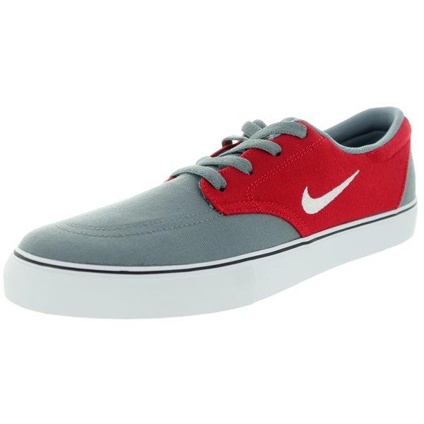 Nike Men's Sb Clutch Cool Grey/White/Gym Red/Black Skate Shoe