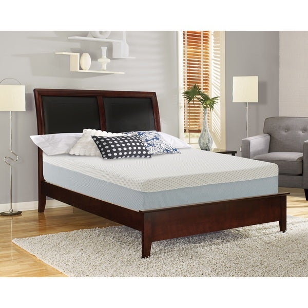 Sleep Sync 12-inch Twin XL-size Synthetic Latex Foam Mattress