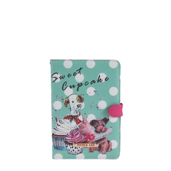 Nicole Lee Cupcake Dog Print iPad Mini Case