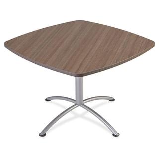 "Iceberg iLand 29""H Square Hospitality Table - Teak"