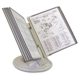 Tarifold Orbital Reference Desk Display - Gray Putty