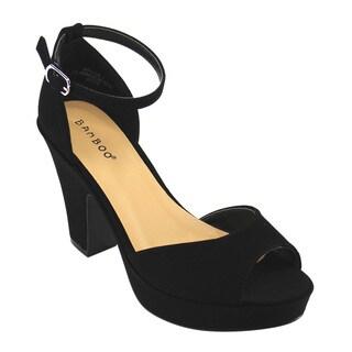 BAMBOO Women's Dress Heels
