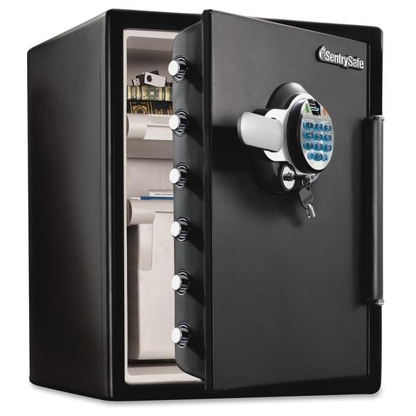 Sentry Safe Fingerprint Safes - Black
