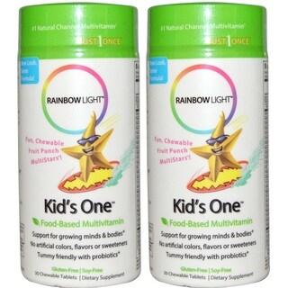 Rainbow Light Kid's One Multistars Multivitamin (30 Chewable Tablets)