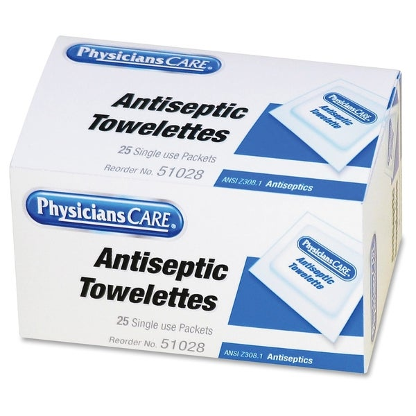PhysiciansCare Antiseptic Towelette(25/Box)