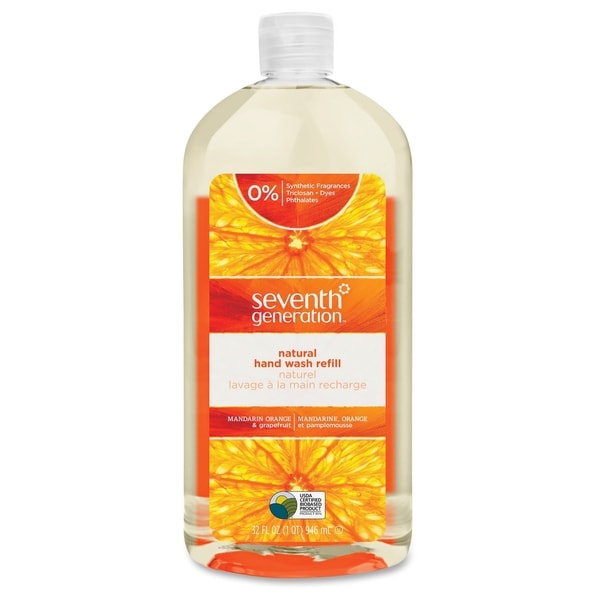 Seventh Generation Mand. Orange Natural Hand Wash Refill - Clear