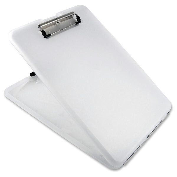 Saunders US-Works SlimMate Storage Clipboard - Clear
