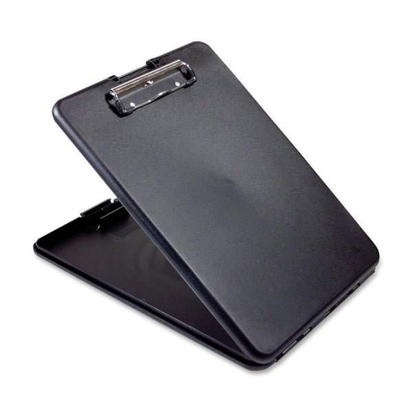Saunders SlimMate Storage Clipboard - Black