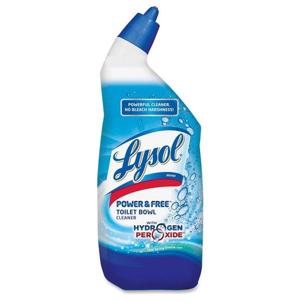 Lysol Power & Free Toilet Bowl Cleaner - White/Blue (1/Carton)