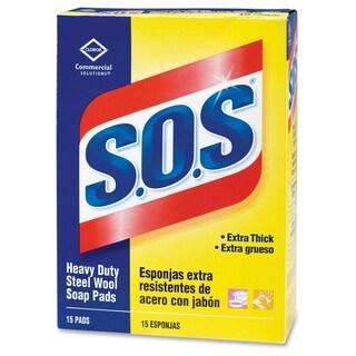 Clorox S.O.S. Soap Pads(15/Carton)