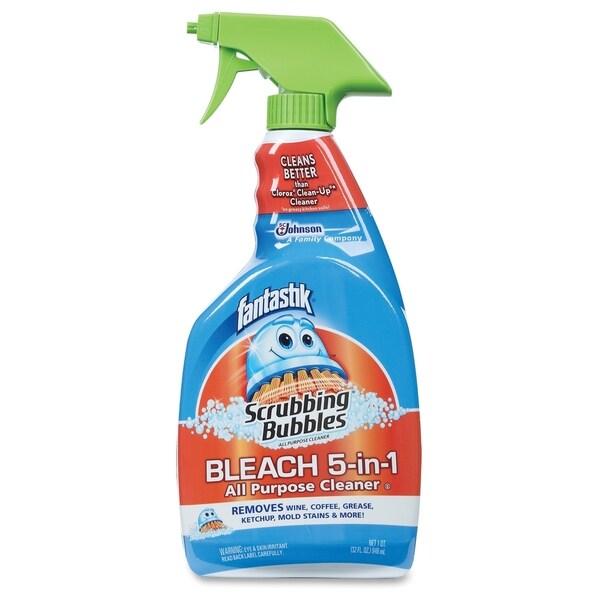 Scrubbing Bubbles Bleach 5-in-1 All Purpose Cleaner - Clear (1/Carton)