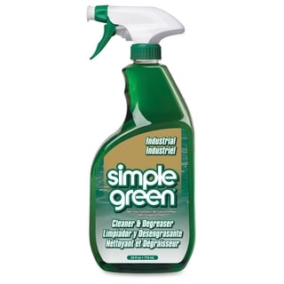 Simple Green Industrial Cleaner & Degreaser - White (1/Carton)