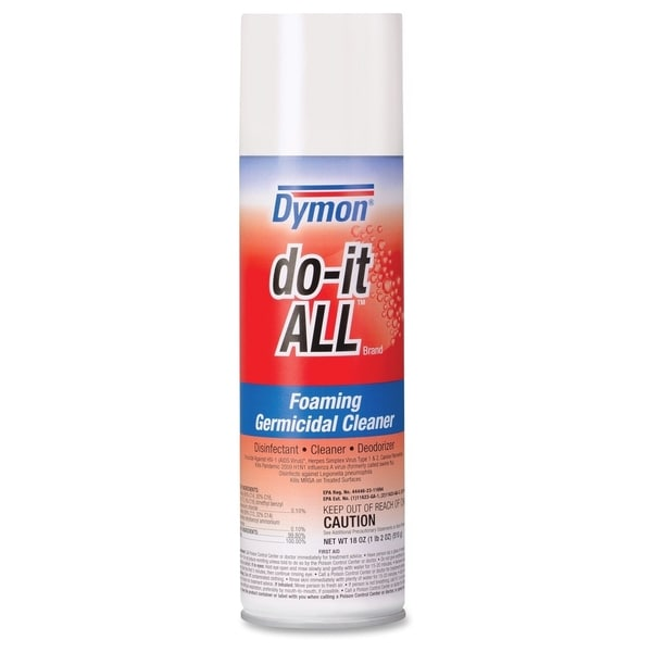 Dymon Do-It-All Germicidal Foaming/Disinfectant - White (1/Carton)