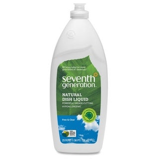 Seventh Generation Dish Cleaner - Clear (1/Carton)