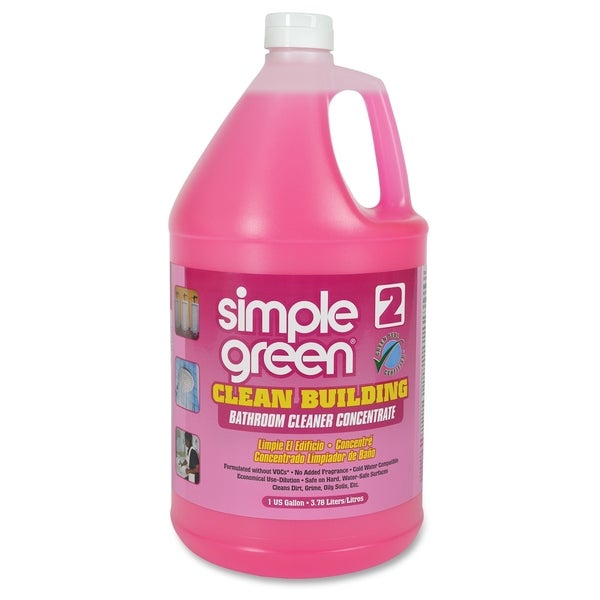 Simple Green Clean Building Bathroom Cleaner Concentrate - Pink (1/Carton)