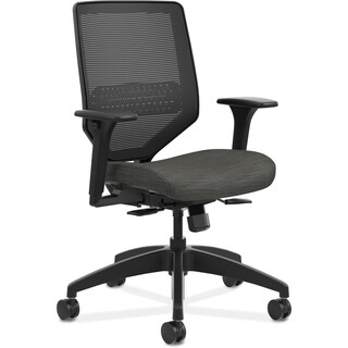 HON Solve Seating Mid-back Task Chair - Black
