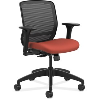 HON Quotient Mid-back Mesh Task Chair - Poppy