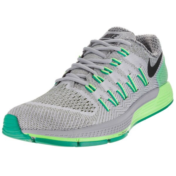 Nike Men's Air Zoom Odyssey Wolf Grey/Black/Crg Khk/Lcd G Running Shoe