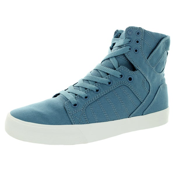 Supra Men's Skytop D Slate Blue/White Skate Shoe