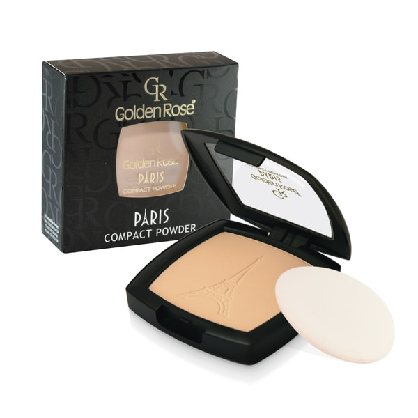 Golden Rose Paris Face Powder Compact