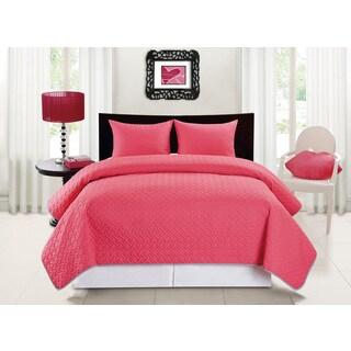 Carter Reversible 3 Piece Bedspread