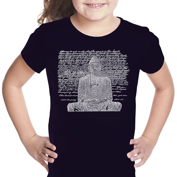 Girls' Zen Buddha Cotton T-shirt