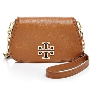 Tory Burch Britten Bark Mini Clutch Crossbody Handbag