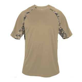 Youth Sand Polyester Digital Hook T-shirt