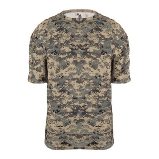 Digital Youth Beige Polyester Camo T-shirt