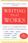 Writing That Works: How to Communicate Effectively in Business (Paperback)