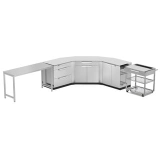 NewAge Products Stainless Steel 10-piece Outdoor Kitchen