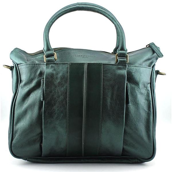 Liebeskind Women's Paula B Green Leather Handbags