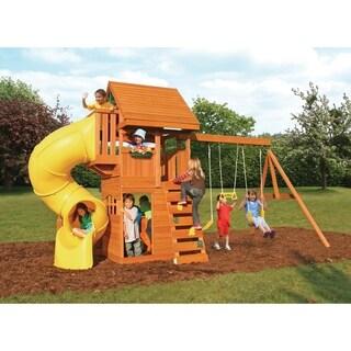 Big Backyard Grandview Deluxe Wood Play Set