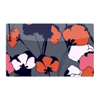 KESS InHouse Gabriela Fuente 'Pop Flowers' Artistic Aluminum Magnet