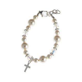 Swarovski Christening Baby Bracelet
