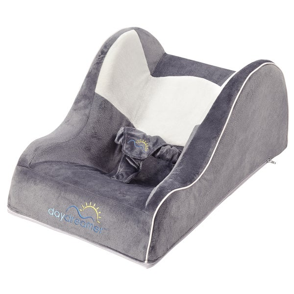 Dex Baby DayDreamer Two-tone Grey Polyester and Plastic Infant Sleeper