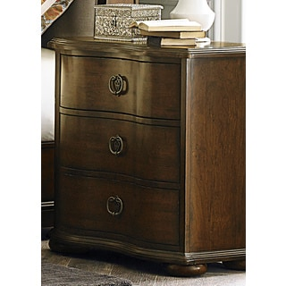 Cotsworld Serpentine Shaped 3-Drawer Nightstand