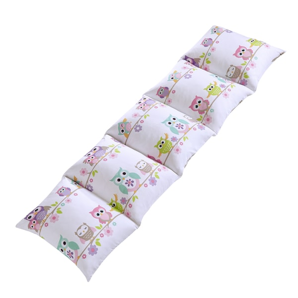 Mi Zone Kids Nocturnal Nellie Pink Caterpillow