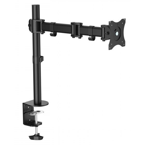 Ergomax Steel LCD VESA Desk Mount Single Monitor Fully Adjustable Tilt Articulating for 1 Screen