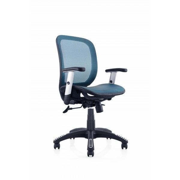 Ergomax Ergo Blue Mesh Office Chair 19459163