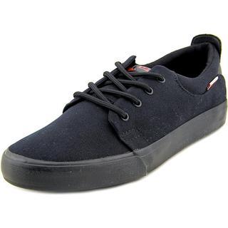 Levi's Men's 'Justin' Black Canvas Athletic Shoes