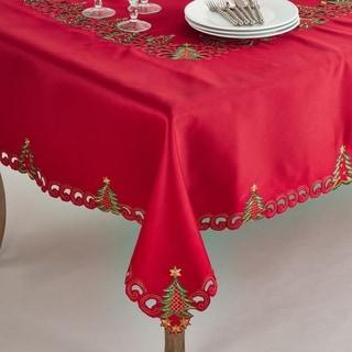 Pandora Collection Holiday Christmas Tree Tablecloth