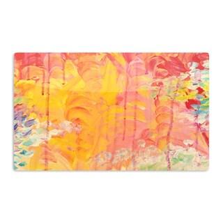 KESS InHouse Ebi Emporium 'Sun Showers' Artistic Aluminum Magnet