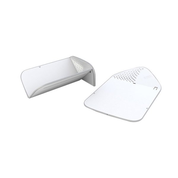 Joseph White Plastic Rinse and Chop Plus Cutting Board