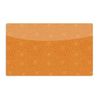KESS InHouse Julia Grifol 'Orange Flowers' Artistic Aluminum Magnet