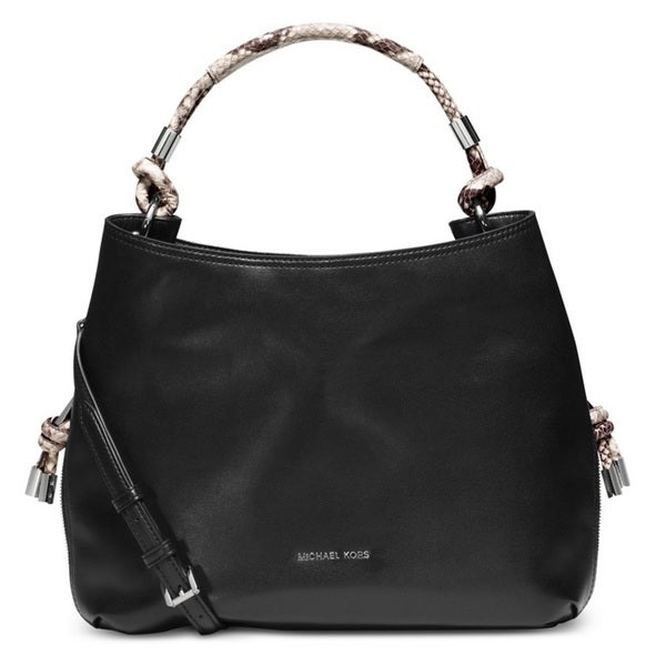 Michael Kors Isabel Large Convertible Shoulder Bag - Black