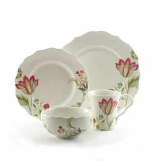 Bella Donna 16-piece Porcelain Dinnerware Set