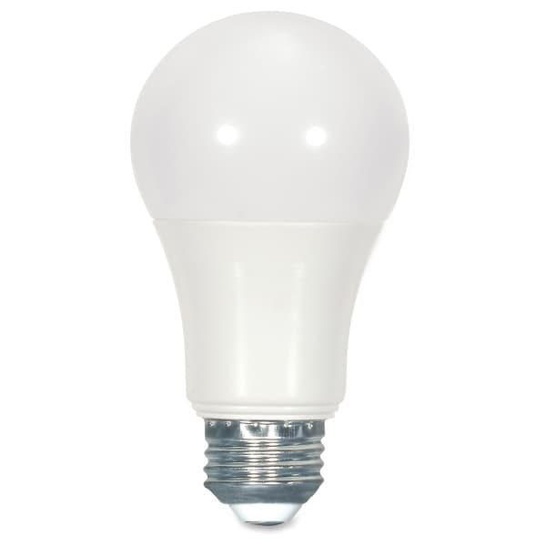 Satco 10W Dimmable A19 Bulb - White